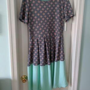 LuLaRoe Dresses - Amelia dress by LuLaRoe NWT SZ XL